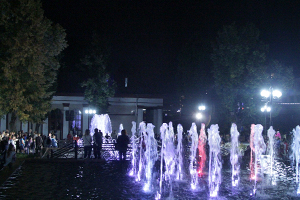 Fountain near Tula Drama Theatre